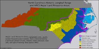 North Carolina Maps North Carolina Long Leaf Pine Coalition Maps