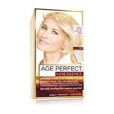 age beautiful hair color reviews permanent hair color for mature hair l oréal excellence age perfect