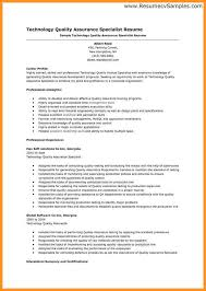 Quality Control Resume Examples by Quality Cover Letter