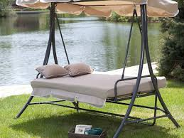 Patio Swing Frame by Round Metal Porch Swing Frame