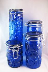 martha stewart kitchen canisters canisters stunning cobalt blue kitchen canisters ceramic kitchen