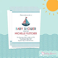 free baby shower invitations i love boats u2013 nautical shower