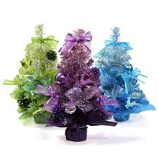 new 30cm gradient butterfly knot pineal mini christmas tree with