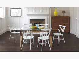 Cleaning A Wooden Dining Table by Dublin 6 Seater Oak And Glass Dining Table White Dining Chairs
