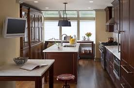 modern kitchen with cherry wood cabinets cherry kitchen cabinets contemporary kitchen msm
