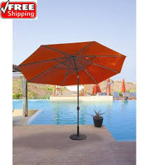 Tilting Patio Umbrella by Best Selection Tilt Patio Umbrellas Galtech 9 Ft Deluxe Auto