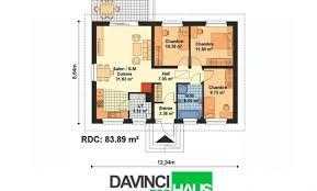 plan plain pied 2 chambres plan de maison plain pied 2 chambres awesome plan de plan maison de