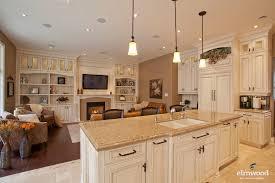 Open Kitchen Living Room Design Open Concept Kitchen Living Room Living Room Contemporary With