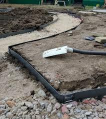 heavy duty flexible steel edging 2 5mm thick driveway