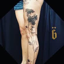 brücius tattoo artist at black serum blackwork tattoo in san