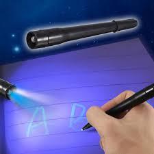 uv marker and light uv light pen invisible ink security marker pen ultra violet led