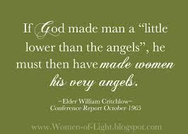 women of light noble womanhood