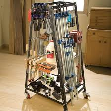 Wood Clamp Storage Rack Plans by Clamp Racks And Clamping Accessories Rockler Woodworking And