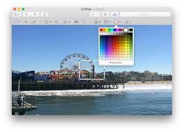 change photo aspect ratio with mac