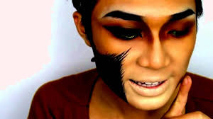 lion makeup halloween