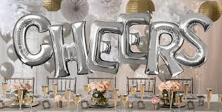 silver balloons silver letter balloons party city canada