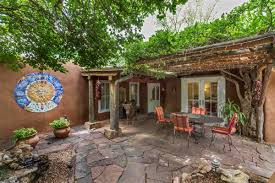 original santa fe style adobe home new mexico luxury homes