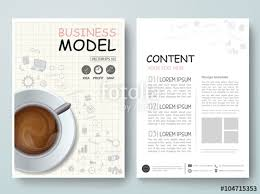magazine layout size vector magazine modern flyers brochure cover annual report design