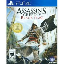 Video Game Flags Ubisoft Sps4 Cusa00010 Ps4 Assassin U0027s Creed Iv Black Flag Us All
