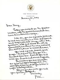 first on abc george w bush u0027s inauguration day letter to barack