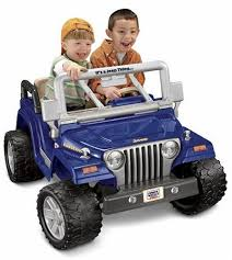 electric jeep for kids amazon com power wheels jeep wrangler rubicon toys games