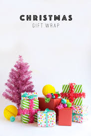 christmas gift wrap tell love and party