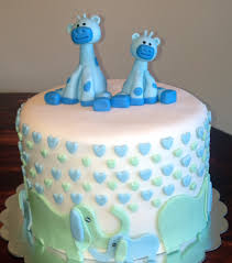giraffe baby shower cake giraffe elephant baby shower cake story cake designs