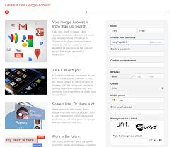 Gmail Sign Up Any New Account Comes Bundled With A Gmail Address And A