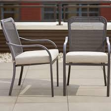 Patio Chairs Steel Black Patio Chairs Patio Furniture The Home Depot