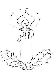 candle christmas printable free coloring pages christmas