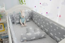 Cloud Crib Bedding New Arrivel Clouds Newborn Baby Cot Bedding Comfortable Baby Boy