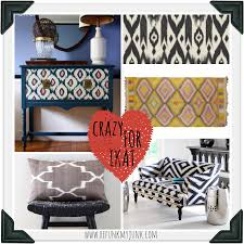 Ikat Home Decor Fabric by Ikat Some Inspirations Refunk My Junk