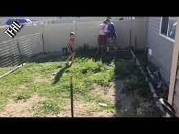temporary dog fence youtube