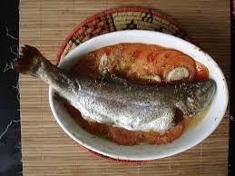 cuisiner des truites truite au four recette de ma poissonière dans la cuisine