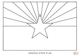 flag of arizona coloring page free printable coloring pages