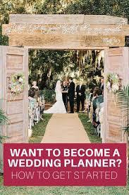 how to become a wedding planner become a wedding planner wedding planners planners and weddings