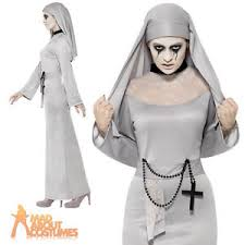 Halloween Costume Gothic Costume Cross Scary Mary Fancy Dress