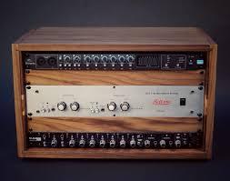 Wood Audio Rack 6u Fulcrum Walnut Series Studio Rack 19 Reclaimed
