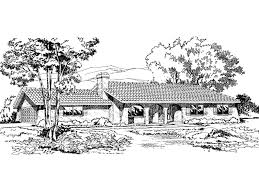 pirate harbor adobe style home plan 038d 0288 house plans and more