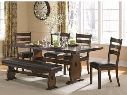 campbell 105341 dining table in cinnamon by coaster w options