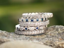 stackable diamond rings ring stacks for every style jewelery inspiration