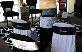and groom chair covers memento monograms make it personal wedding wednesday
