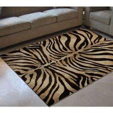 Animal Area Rug Animal Print 3 X 5 Area Rugs Rugs The Home Depot