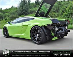 green lamborghini gallardo for sale robert h 2005 lamborghini turbo gallardo racing