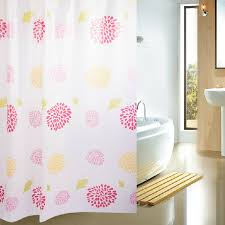 gorgeous waterproof durable discount shower curtains buy white
