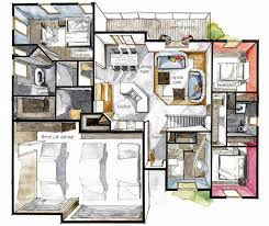 Sketch Floor Plan 30 Best Floor Plan Croissant Boryana Ilieva Images On Pinterest