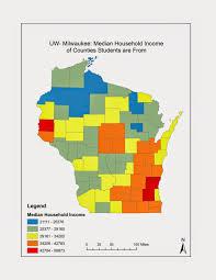 Uw Milwaukee Map Quantitative Methods In Geography
