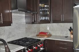 Kitchen Countertops Bathroom Vanities Mississauga Ontario - Quartz backsplash