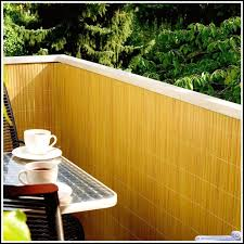 obi sichtschutz balkon balkon sichtschutz bambus obi balkon house und dekor galerie