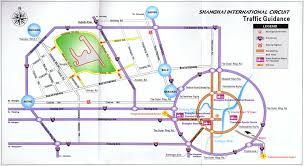 Map Of Shanghai Transportation Map Of Shanghai International Circuit Shanghai